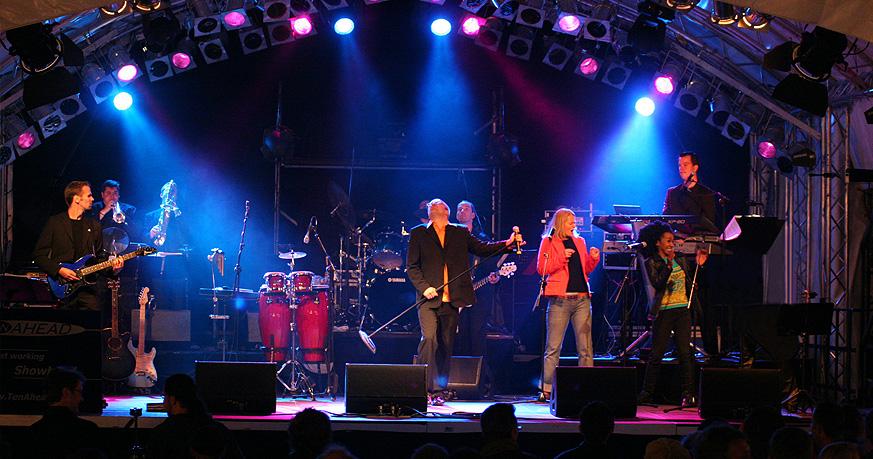 Showband, Liveband Frankfurt, Coverband, Partyband, köln, NRW, koeln, galaband