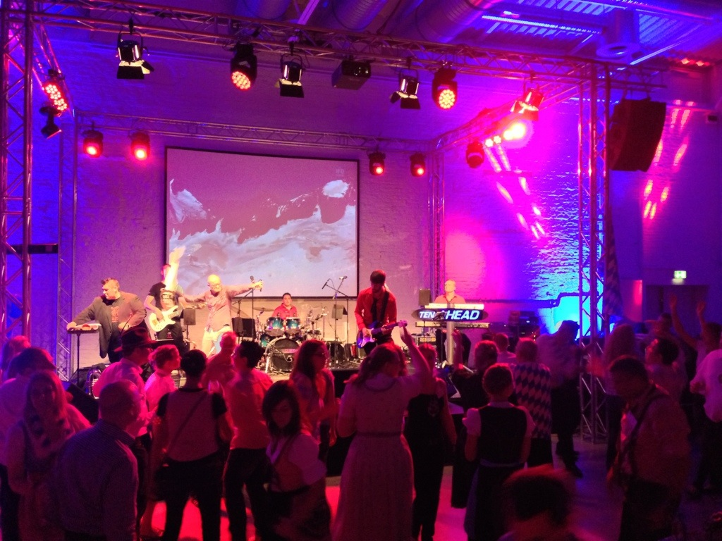 Liveband Betriebsfeier, Coverband Köln, Partyband NRW