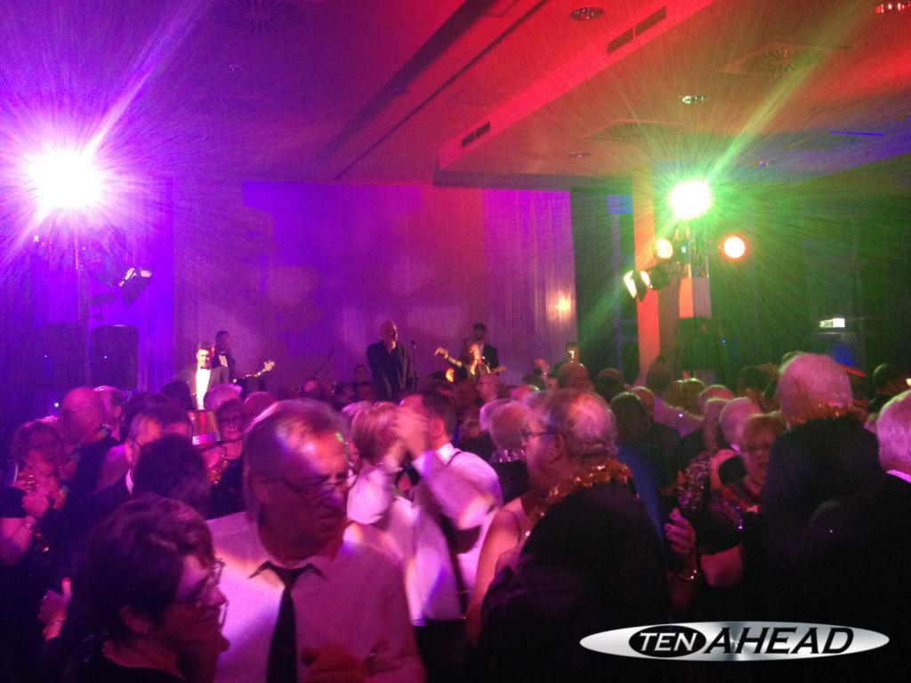 Liveband, Coverband, Partyband, ten ahead, tenahead, koeln, Köln, NRW, silvestergala, vandervalk, van der valk, silvester 2014