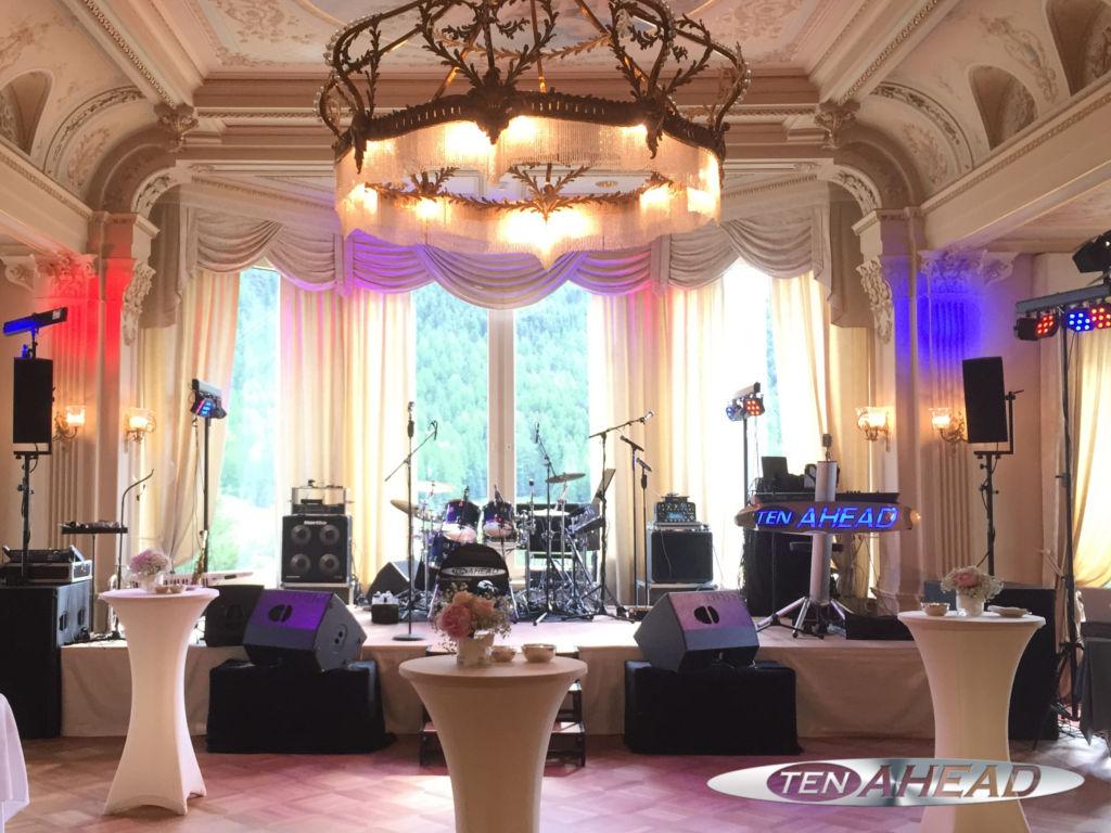 Partyband, Liveband, Coverband, ten ahead, koeln, Köln, NRW, Showband, tanzband, pontresina, schweiz, grand hotel kronenhof