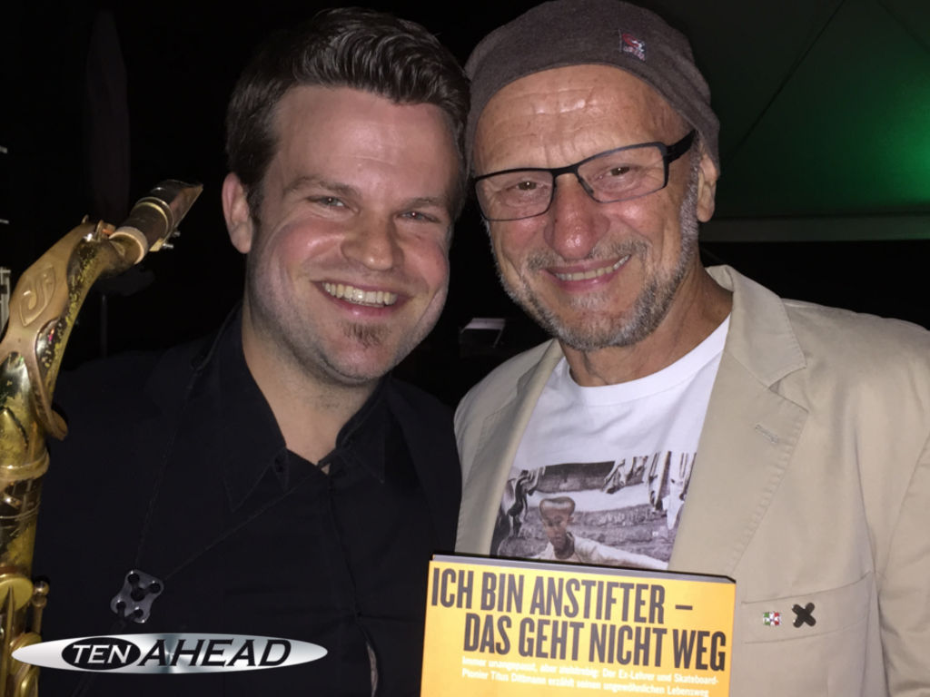 Partyband, Liveband Versmold, Coverband, ten ahead, koeln, Köln, NRW, Showband, tanzband, titus dittmann