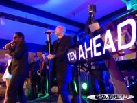 Ten Ahead als Liveband mit...