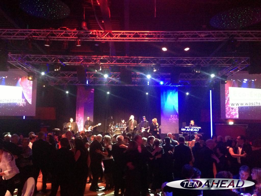 Liveband, Coverband,  Partyband, ten ahead, koeln, Köln, NRW, aachen, ihk, ball der wirtschaft