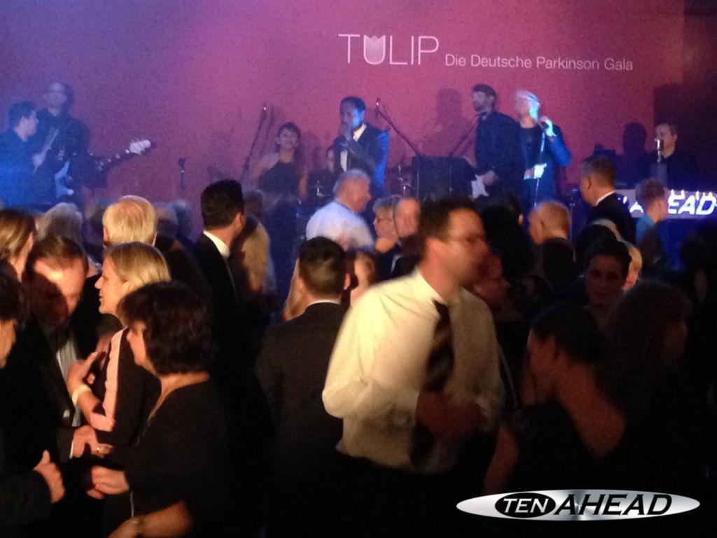 Liveband, Coverband,  Partyband, ten ahead, koeln, Köln, NRW, Parkinson Gala, Tulip, Van der Valk, Berlin, Brandeburg, Roland Kaiser