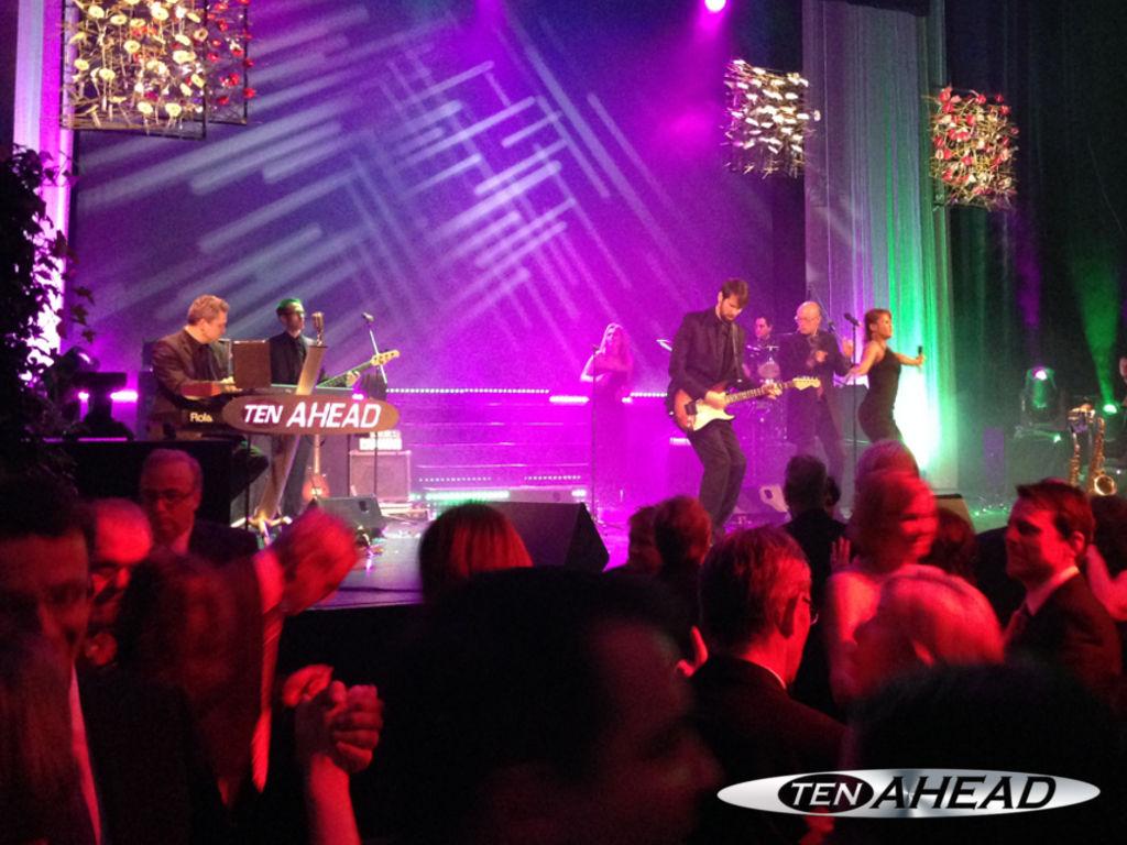 Liveband, Coverband,  Partyband, ten ahead, tenahead, koeln, Köln, NRW, landau, jugenstil festhalle, ball des sports, sportlerball