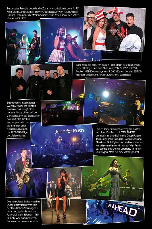 Best of 2014 der Liveband Köln Ten Ahead - Showband, Coverband, PartybandBest of 2015 der Liveband Köln Ten Ahead - Showband, Coverband, Partyband, Download