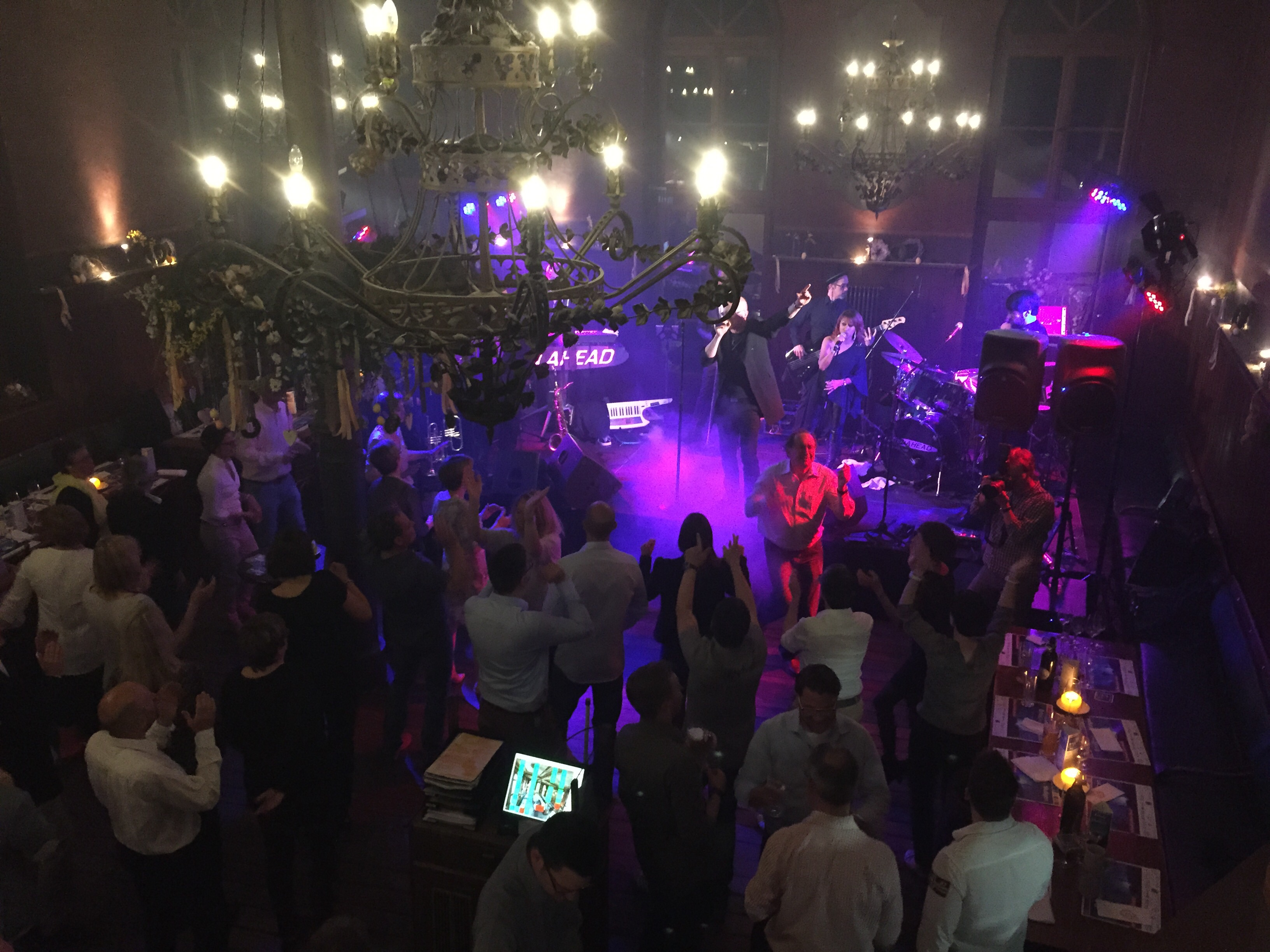 Liveband, Coverband,  Partyband, ten ahead, tenahead, heidelberg, Deutscher Apothekerverband, DAV