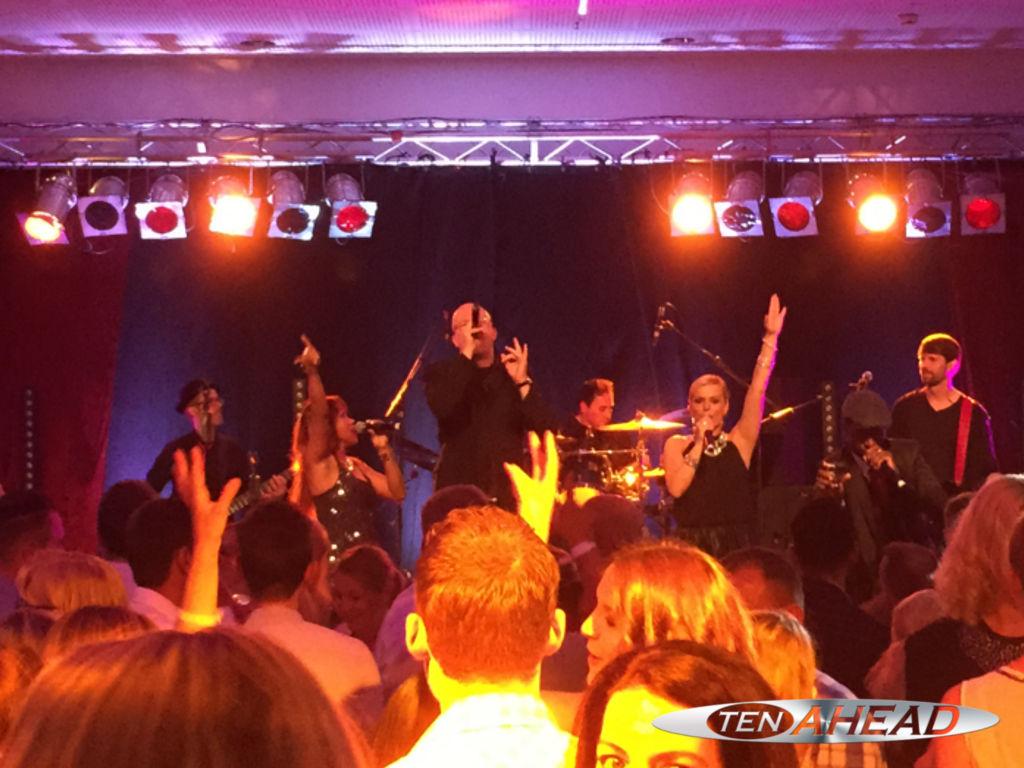 Partyband, Liveband, Coverband, ten ahead, koeln, Köln, NRW, targoband, borussiapark, mönchengladbach