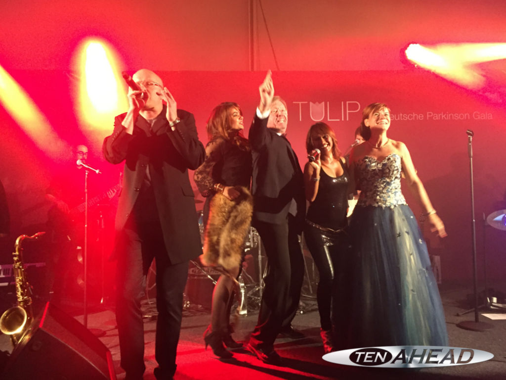 liveband berlin, parkinson gala, ten ahead, partyband, werner schulze edel