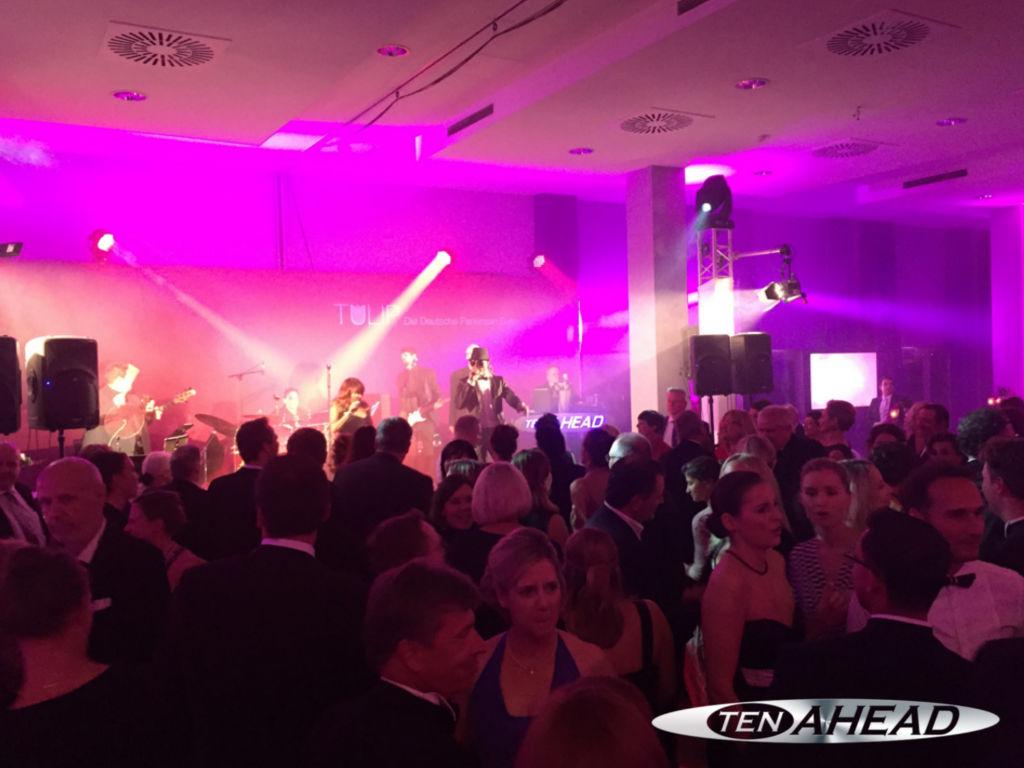 liveband berlin, parkinson gala, ten ahead, partyband