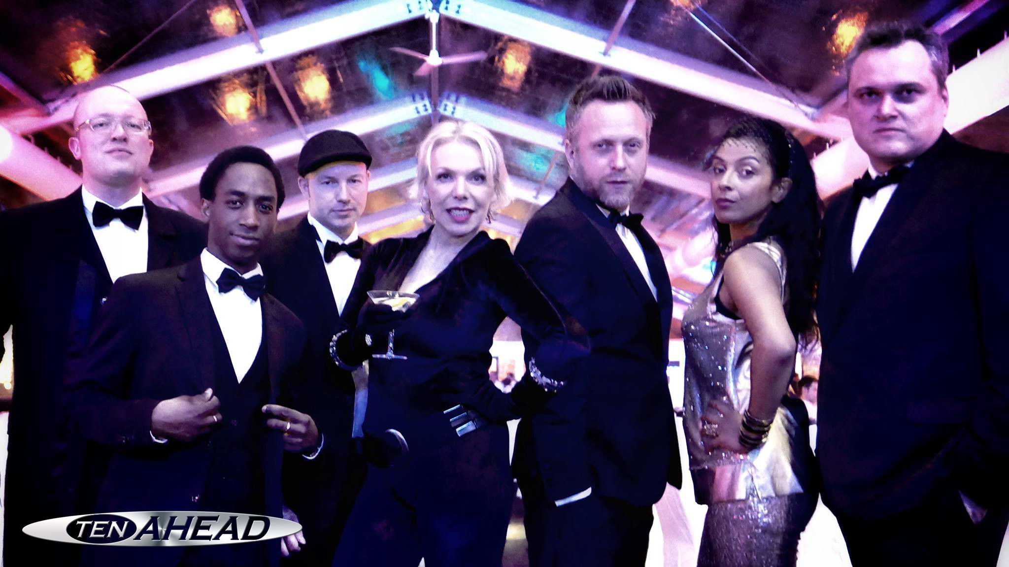 liveband köln, james bond show, ten ahead, partyband, shirley bassey, entertainment, stars in concert