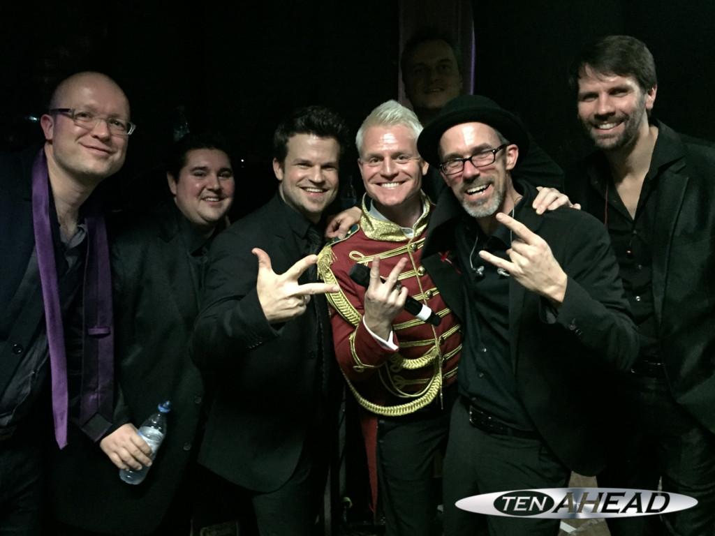 Liveband Bonn, Showband Deutschland, Coverband NRW, Partyband NRW, tenahead, Top40 Coverband, Guido Cantz