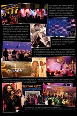 Best of 2012 der Liveband Köln Ten Ahead - Showband, Coverband, Partyband